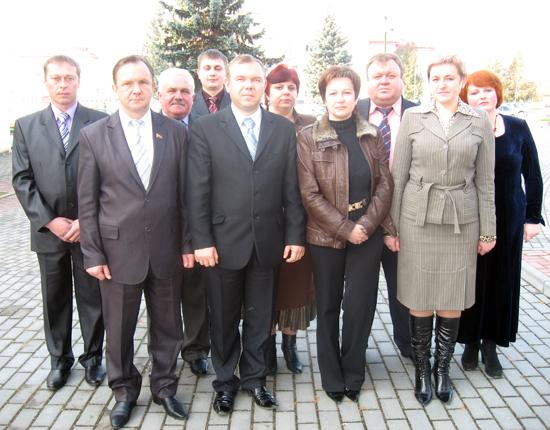 Будучыню Беларусi вызначаць i нашы землякi