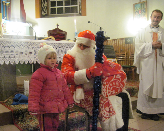 Подарки от Святого Миколая