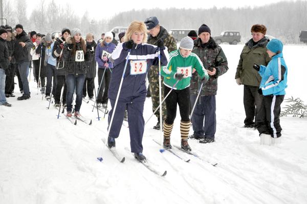 Вороновская лыжня-2012