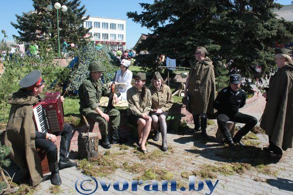Фото с празднования Дня Победы