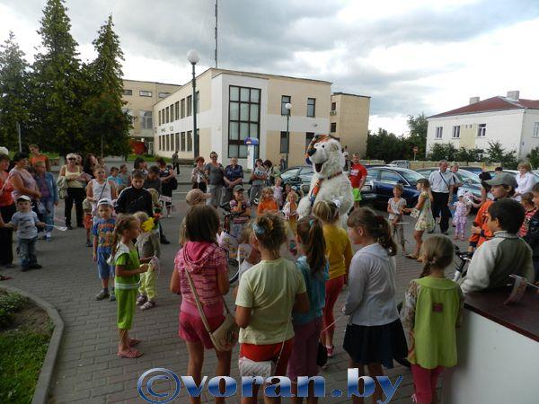 В Вороново прошла дегустация лидского мороженного