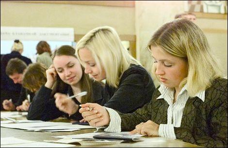 Минимальное значение тестового балла ЦТ в 2013 году будет повышено