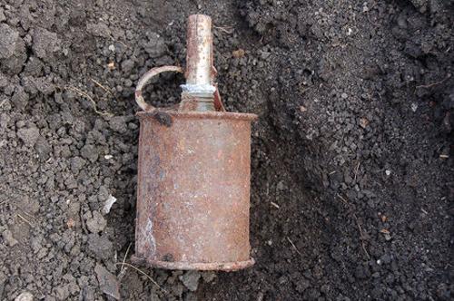 Учащиеся Вороновского колледжа нашли гранату