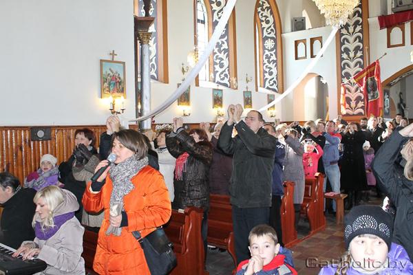 «Дні духоўнага  аднаўлення сем'яў» прайшлі ў Германішках