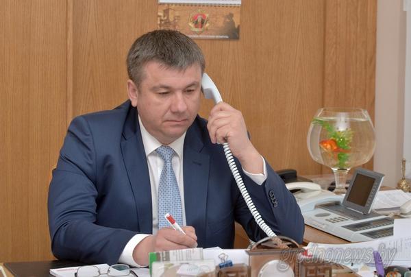 Прямую линию с жителями Гродненщины провел заместитель председателя облисполкома Юрий Шулейко