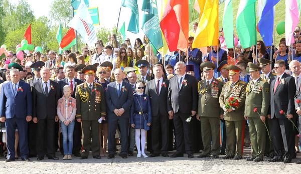 Гродно празднует 70-летие Великой Победы