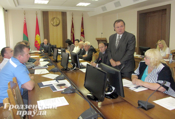 В облисполкоме обсудили проблемы демографической безопасности Гродненщины