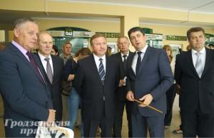 Гродненщину с рабочим визитом посетил Премьер-министр Республики Беларусь Андрей Кобяков