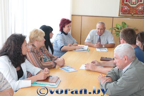 Образована Вороновская районная комиссия по выборам Президента Республики Беларусь
