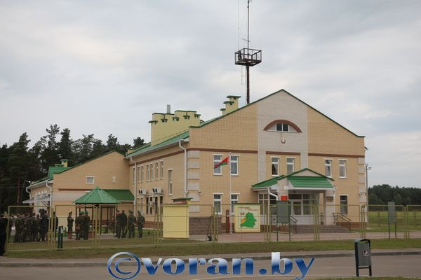 В Вороновском районе открыли новый пограничный пост