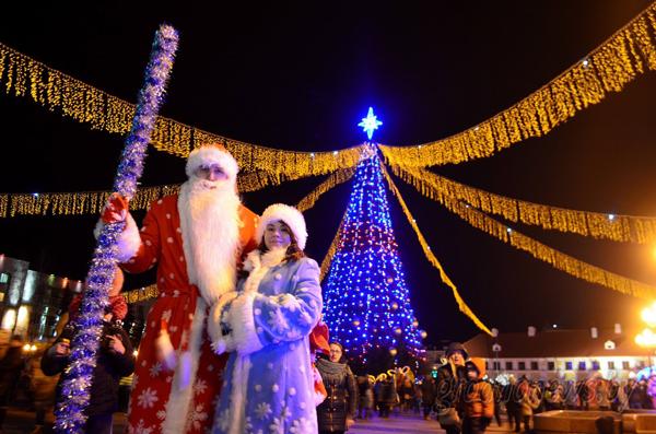 Огни на главной елке Гродно торжественно зажгут 18 декабря