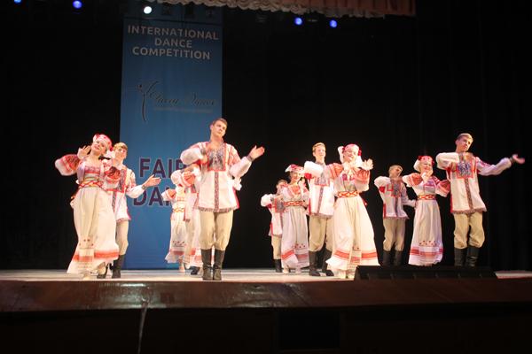 «Феерия танца» покорилась радунцам