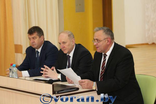 Выездное заседание облисполкома в Вороновском районе (Обновлено)