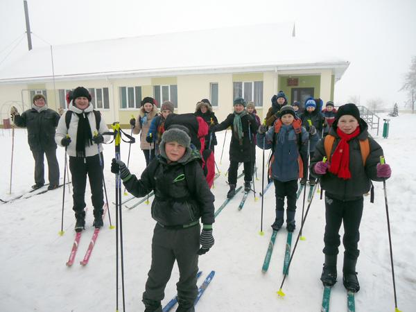 Снег, погода и лыжня — наши верные друзья!