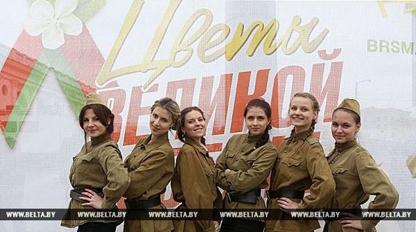 Новый этап патриотического проекта «Цветы Великой Победы» стартовал в Беларуси 28 апреля