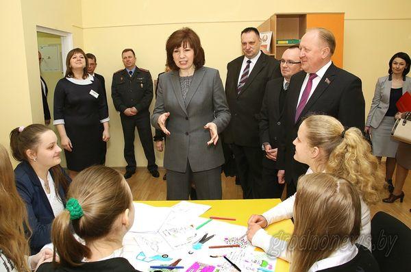 В Лиде прошло выездное заседание комиссии по делам несовершеннолетних при Совете министров Республики Беларусь