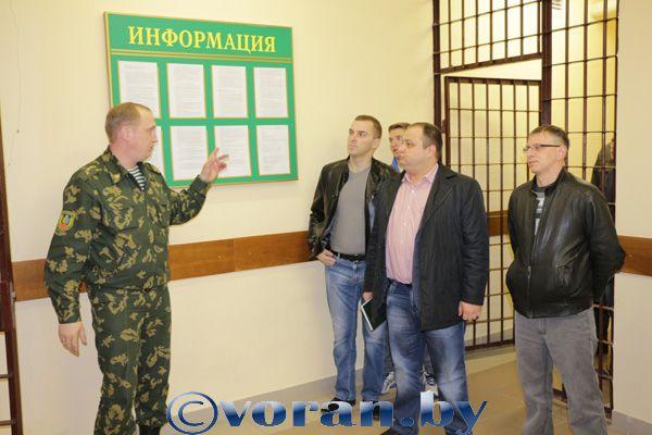 В Вороново прошли плановые сборы офицеров
