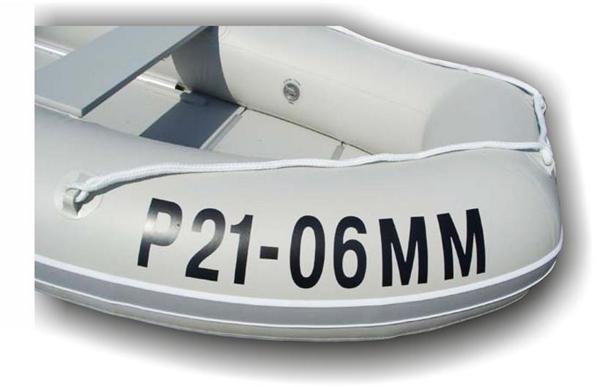 самоклеящиеся номера для лодок