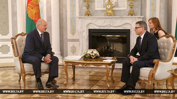 Лукашенко: нынешняя ситуация характеризуется налаживанием добрых отношений между Беларусью и ЕС
