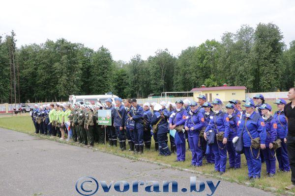 Соревнования сандружин прошли на Вороновщине