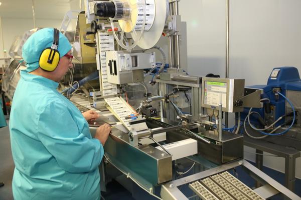 Новый цех по производству стерильно рассыпанных антибиотиков открылся в Лиде