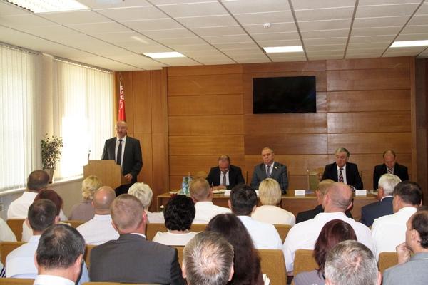 Генеральный прокурор Республики Беларусь Александр Конюк побывал с рабочим визитом в Волковысском районе