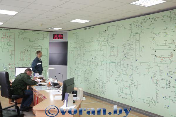 Энергетики Вороновского района модернизируют  диспетчерский пункт