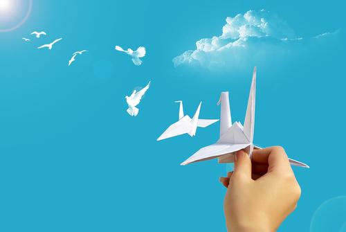 Школьники Гродненской области в День знаний изготовят 112 тыс. бумажных голубей