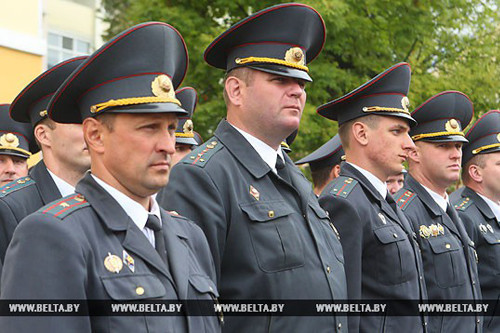 МВД Беларуси перейдет на усиленный вариант несения службы 5-12 сентября