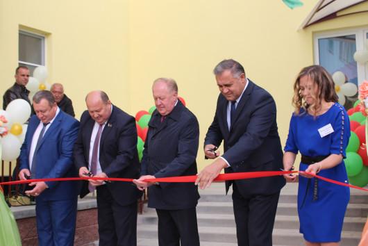 Детский сад в горпоселке Мир переехал в новое здание