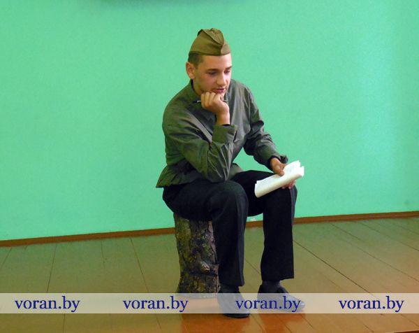 Душевно звучало  поэтическое слово в Вороново