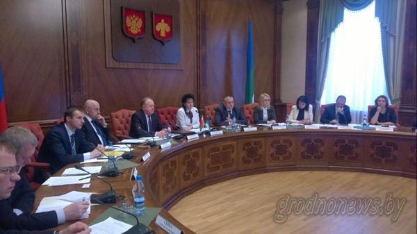 В Сыктывкаре прошло первое заседание рабочей группы по сотрудничеству Беларуси и Республики Коми