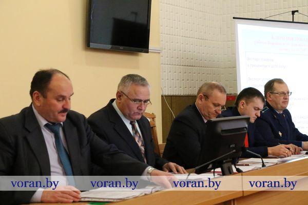 Определен курс дальнейшего развития Вороновского района