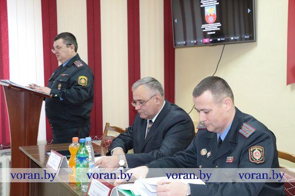 В Вороновском РОВД подвели итоги оперативно-служебной деятельности за 2016 год