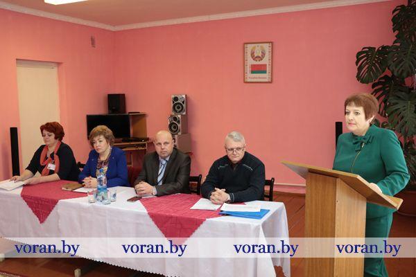 Социальная служба Вороновского района подвела итоги года