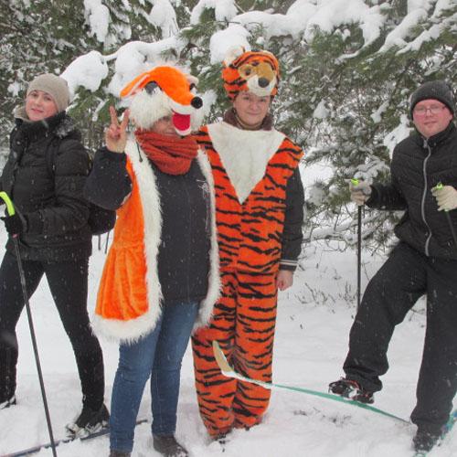 Лыжный кросс для взрослых в Радуни