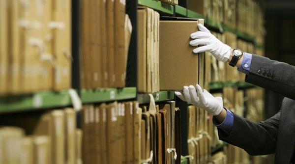 Работа архива  с обращениями граждан