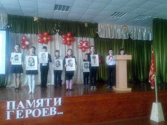 День памяти юных героев-антифашистов прошел в Заболотском УПК