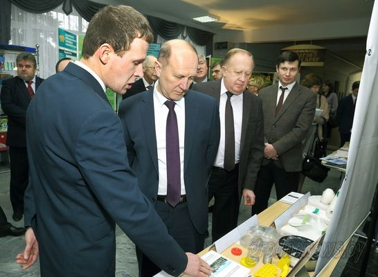 Встреча руководства области с учеными Гродненщины, посвященная Дню науки, прошла в Гродненском государственном университете имени Янки Купалы