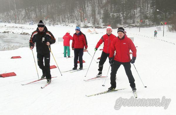«Гродненская лыжня–2017» собрала под Новогрудком команды всех районов области