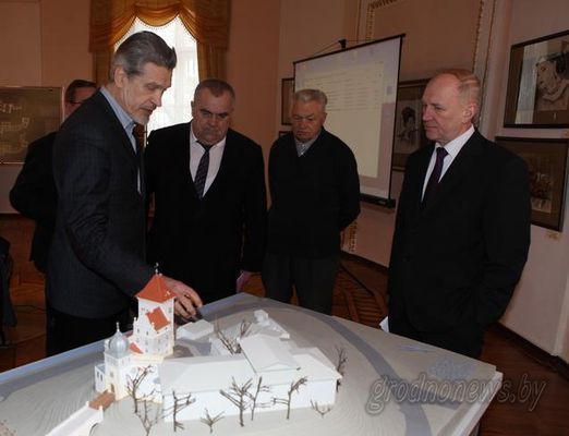В этом году продолжится реставрация комплекса Старого замка в Гродно