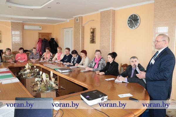 Управделами  перенимали опыт в Вороновском районе (Фото)