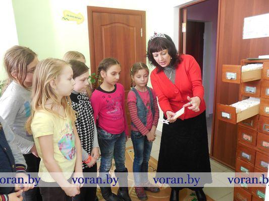 Тыдзень дзіцячай і юнацкай кнігі праходзіць на Воранаўшчыне