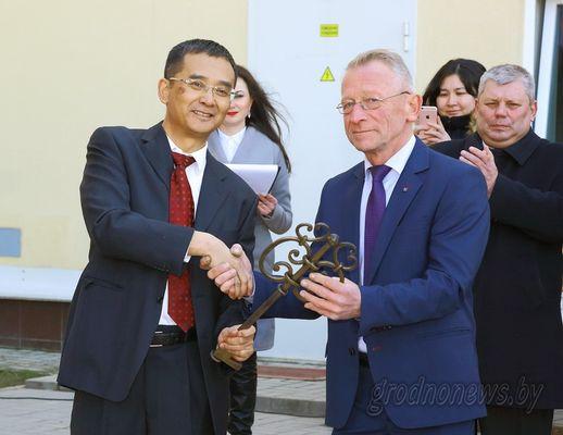 В Гродно состоялась торжественная презентация мусоросортировочного завода