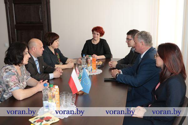В Вороново прошла встреча с польскими партнерами по программе трансграничного сотрудничества.