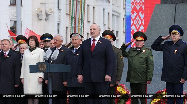 Поздравление Президента Беларуси с Днем Победы