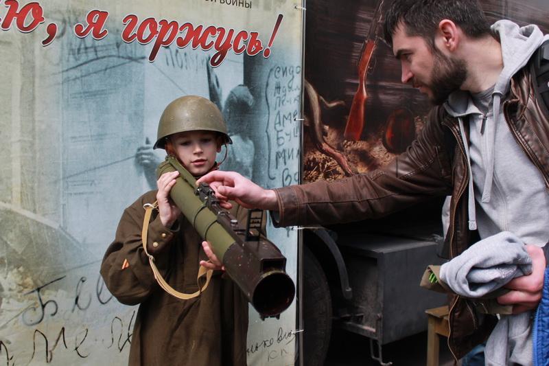 По инициативе профсоюза в Гродно прибыл передвижной музей