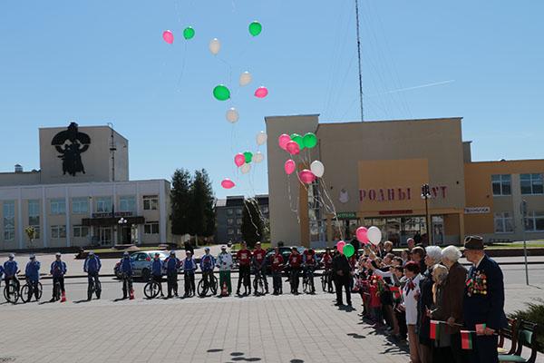 Вороновчане отметили День Государственного герба Республики Беларусь и Государственного флага Республики Беларусь