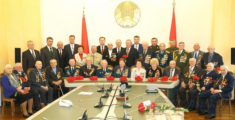 Ветеранов Великой Отечественной войны чествовали в облисполкоме
