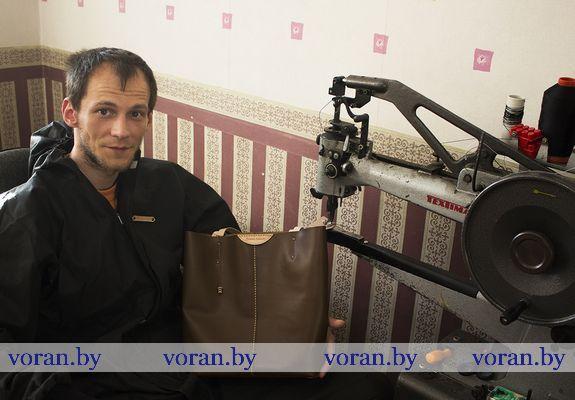 Кожевенных дел мастер живет на Вороновщине